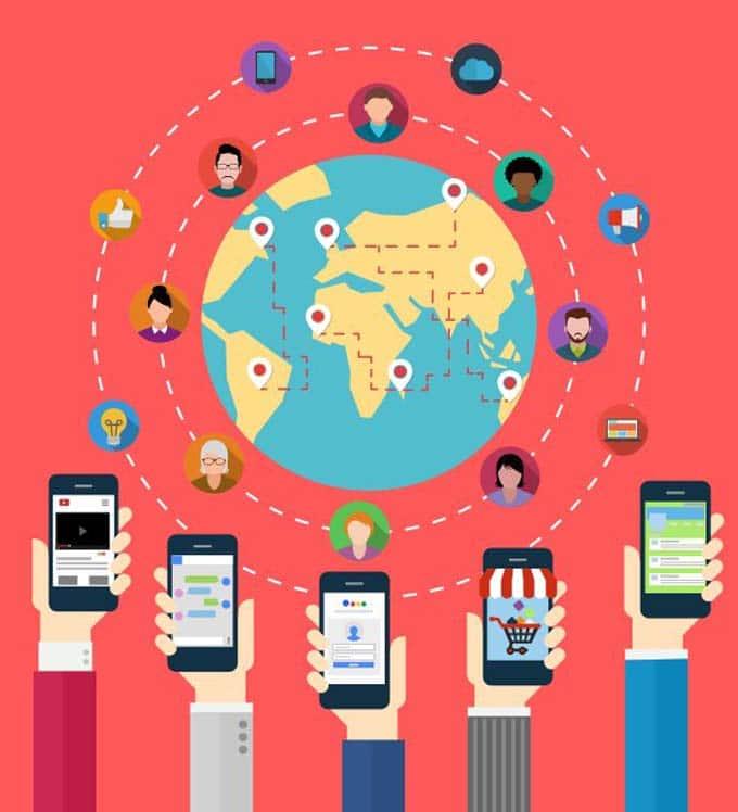 Artículo medios sociales para dispositivos móviles
