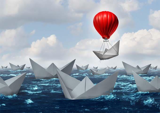 Business Advantage Concept