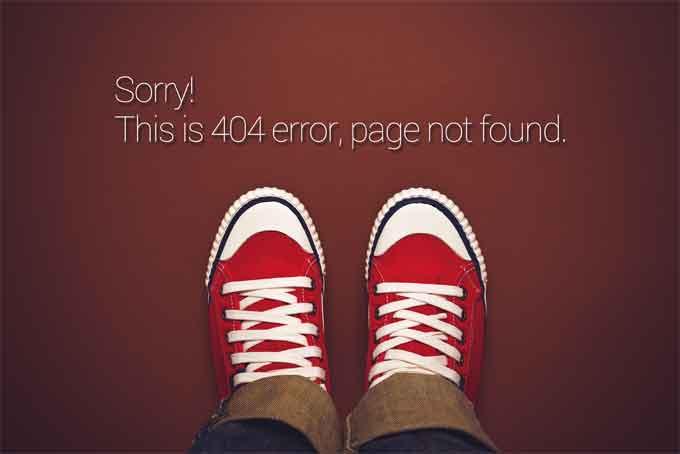 Error 404 - Artículo Marketers