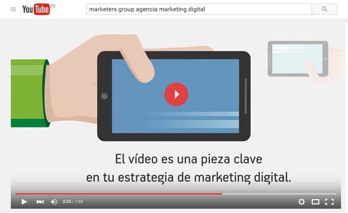 Video marketing - Canal youtube
