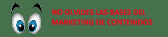 Bases del marketing de contenidos