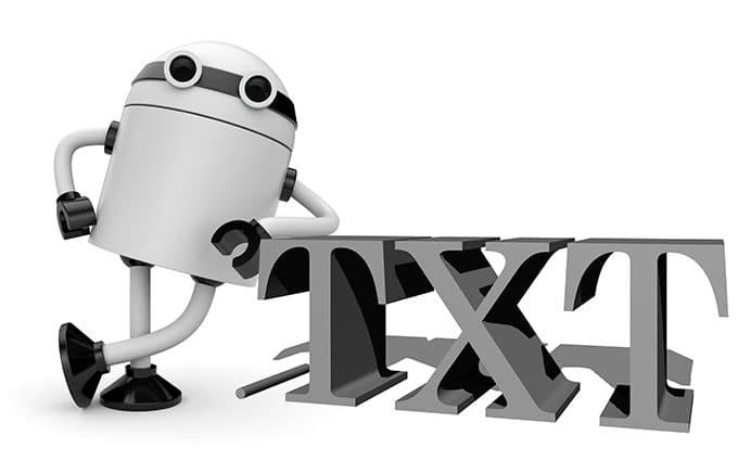 Archivo robots .txt